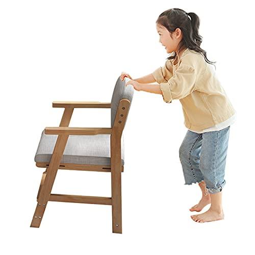 FGHFD Sillas Comedor Ajustable Silla de Escritorio Infantil con Pedal Escuela Primaria Correción Infantil Sentada Asiento de Postura Ergonomica