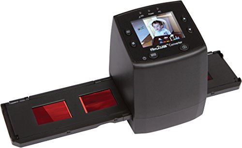 ClearClick Film to USB Converter 35mm Slide and Negative Scanner with 2.3' Color LCD, 2 GB Memory...