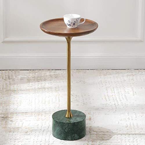 GJHBFUK Salontafel, bijzettafel, voor sofa, hoeklamp, tafelblad, industrieel eindoppervlak, korrel, hout, MDF premium kwaliteit