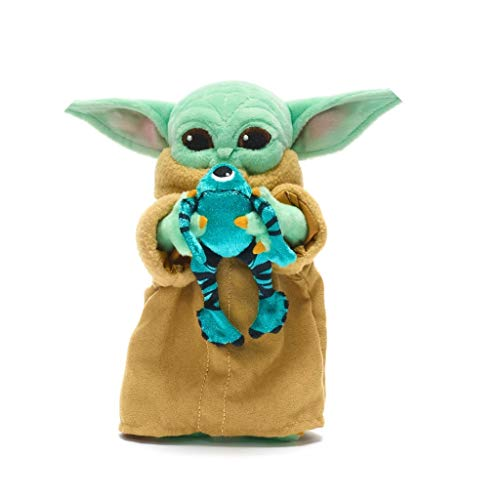 Disney Store Mini-Plüschtier Yoda Mandalorian mit Frosch von Sorgan Star Wars Original Disney Star Wars Limited Edition Serie 1 von 4