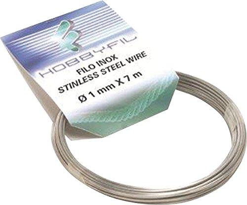 6/mm filomat 914006/Kabel P//W/äscheleine vermessingt transparent 100/mt