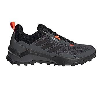 adidas Terrex Ax4, Chaussures de Randonnée Basses Homme, Gris (Grisei Rojsol Carbon), 42 EU
