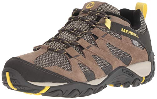 Merrell womens Alverstone Waterproof Hiking Shoe, Brindle, 5 US