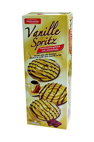 Vanille Spritz Spritzgebäck Vanille mit Schokolade 300g