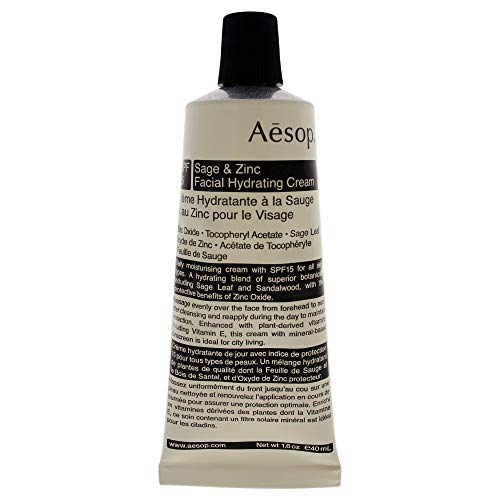 Aesop Sage & Zinc Facial Hydrating Cream SPF15, 40 ml