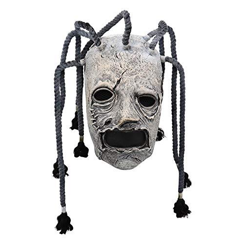 Halloween Maske Latex Scary Clown Maske Horror Latex Slipknot Maske Vollkopf Kostüm Maske für Erwachsene Party Dekoration Requisiten