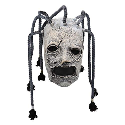 Halloween Maske Latex Scary Clown Maske Horror Latex Slipknot Maske Vollkopf Kostüm Maske für Erwachsene Party Dekoration Requisiten