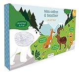Mon coffret à toucher Les animaux : Coffret en 4 volumes : Les animaux du froid ; Les animaux de la forêt ; Les animaux de la montagne ; Les animaux de compagnie