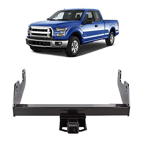 KUAFU 2' Class 4 Trailer Hitch Receiver Towing Compatible with 2015-2020 Ford...