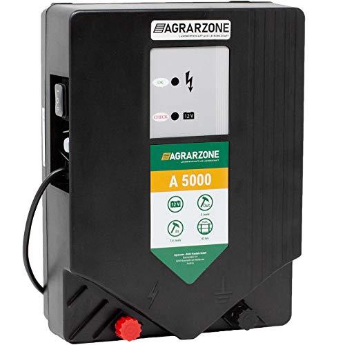 Agrarzone A 5000 - Electrificador de vallas (12 V, 7,5 julios)