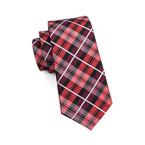 KYDCB DerJacquard derneuen klassischen Art- undWeisemänner gesponnene Silk Krawatten binden für Mann-formalen Hochzeitsfest-Bräutigam