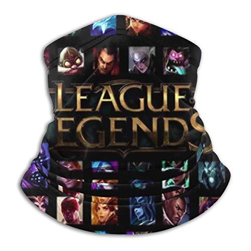 Custom made League Of Legends - Pañuelo unisex con diademas mágicas, sin costuras, pasamontañas, pañuelo para la cabeza