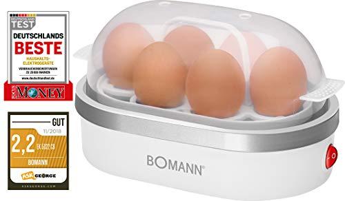 Bomann EK 5022 CB Eierkoker, Wit
