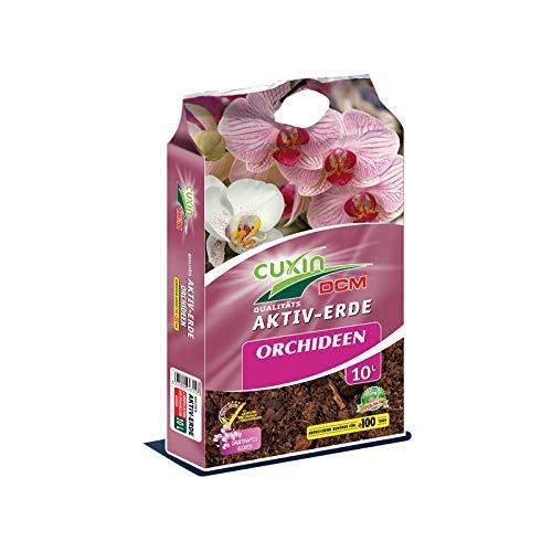 Jasker's Erde für Orchideen | 10 L | Blumenerde für alle Orchideen - Arten | mit Pinienrinde und +Dünger | zum Pflanzen und Umtopfen (Orchideenerde, 10 L)