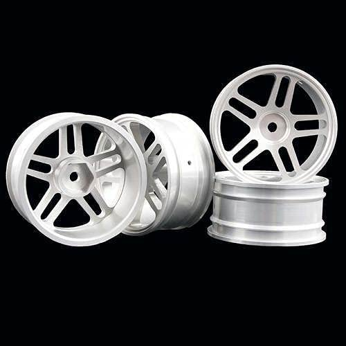 4PCS 1:10 Soldering Aluminum Alloy Wheel Hub 94123 Metal W Universal Inventory cleanup selling sale 94122