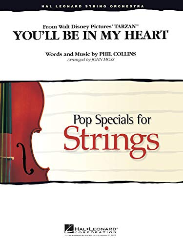 You'Ll Be In My Heart (From Tarzan) - Streichorchester - Set