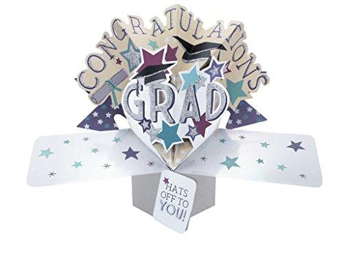 Price comparison product image Second Nature Graduation Congratulations Pop Up Greeting Card - POP159