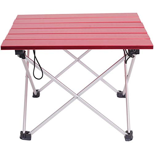 Rain Portable Table Foldable Folding Camping Hiking Table Travel Outdoor Picnic Aluminum Beach Table,violet