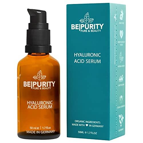 Hyaluron Serum hochdosiert mit Bio Aloe Vera 50 ml - Feuchtigkeitspflege - Hyaluronsäure Anti Aging...