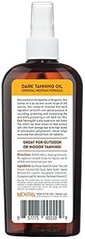 Tropical Sands All-Natural Dark Tanning Oil, 8 fl oz. - 100% Biodegradable