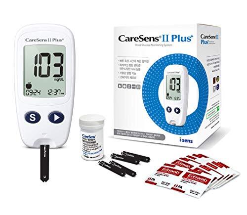 CareSens2 Pluse Blood Glucose Monitoring System Plus Complete Kit Meter Sets