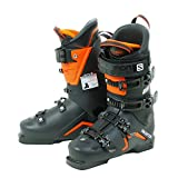 Salomon S/Max 100 Ski Boot - Black/Orange/White 26/26.5