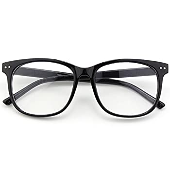 thick rimmed glasses