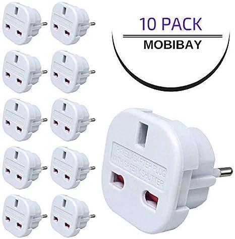 Mobibay Uk Auf Eu Reisestecker Adapter Für Die Elektronik