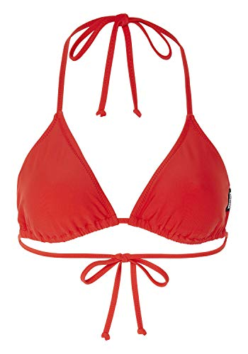 Chiemsee Damen Bikini, Neon Red Orange, 40