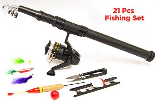 Generic yanhonguk3150821 _ 54 1yh4646yh KLE équipement pour pêche de la carpe/L EQ Moulinet de pêche 2 personnes 2 personne Tackle et la carpe/C Kit de démarrage Hing Star équipement