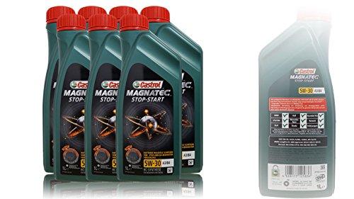 Castrol Magnatec Stop-Start 5W-30 A3/B4 Motoröl 7x 1 L = 7 Liter