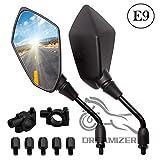 DREAMIZER 8mm 10mm Espejos Retrovisores de Motocicleta, Moto Retrovisores Laterales...
