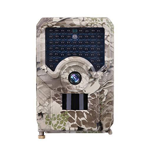 Mini Wildkamera 12MP 1080P HD mit Bewegungsmelder Nachtsicht Wildlife Jagdkamera Wildtierkamera mit 120° Weitwinkelobjektiv