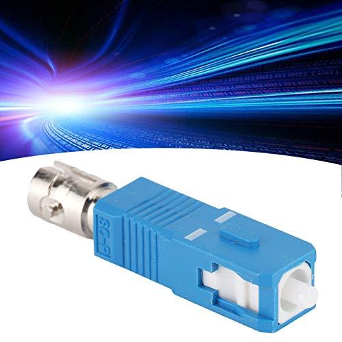 Conector de fibra óptica, conector adaptador de fibra óptica que elimina la interferencia de tierra para evitar daños accidentales al terminal de control principal