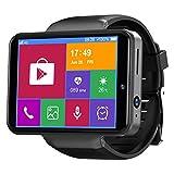 TICWRIS Max S 2.4 inch 3GB+32GB Smart Watch Hommes Femmes 4G Smartwatch pour Android 7.1 avec 8MP Caméra 2000 mAh Smart Watch GPS Fitness Bracelet (Black)