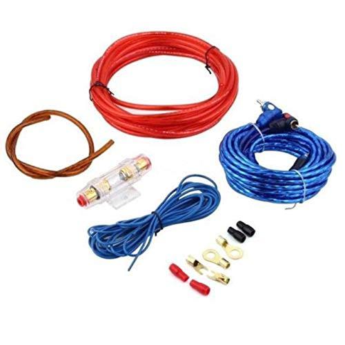 Yukiko 1 Set Car Power Amplifier Car Speaker Woofer Cables Amplifier Installatiekit