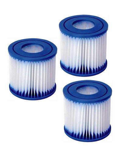 Wehncke 11745 Filtereinsatz 3 Stück für Filterpumpe 11752