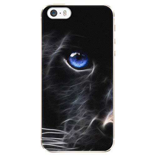 iSaprio Carcasa de plástico - Black Puma compatible con Apple iPhone 5/5S/SE