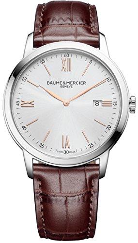 Baume&Mercier M0A10415 Reloj de Pulsera para Hombre