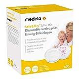 Medela Safe & Dry Ultra Thin - Discos de lactancia desechables (36 unidades)