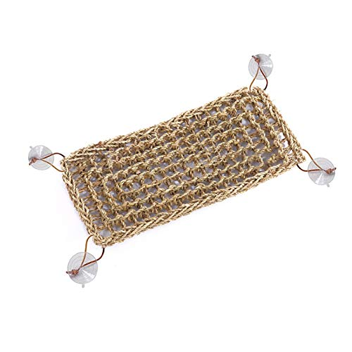 DealmerryUS Reptile Lizard Bearded Dragon Hammock Reptile Lounger,Well Made Lizard Lounger Toy for Anoles, Bearded Dragons, Geckos& Iguanas,and Hermit Crabs