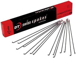 DT Swiss Aerolite Spoke 2.0mm Bladed 270mm Straight Pull Black Each Individual