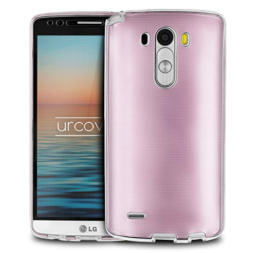 Urcover® LG G3 | Funda Carcasa 360 Grados Ultra Slim Metálico | TPU en Oro Rosa | Case Cover Protección Completa Smartphone Móvil Accesorio
