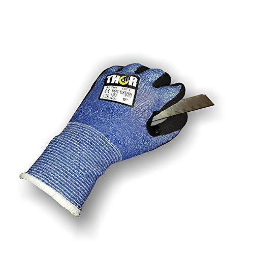 Schnittschutzhandschuhe Klasse 5 Nitrilbeschichtung Touch-fähig (8 (M))