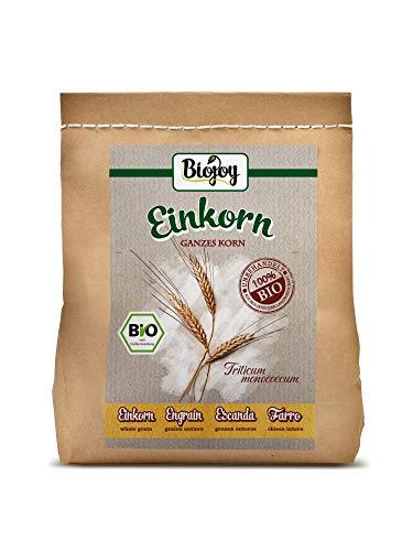 Biojoy Farro Monococco Biologico in chicco (Einkorn) Triticum monococcum (2 kg)