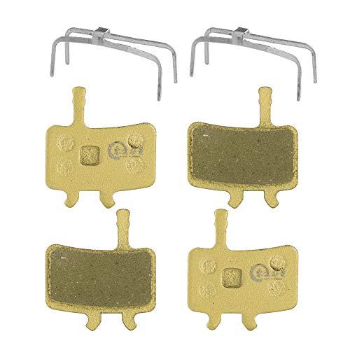 EASTERN POWER 2 Pares Pastillas de Disco Freno para Sram Avid BB7 Juicy 3 5 7 (Resina/Semi-metálico/Metal)
