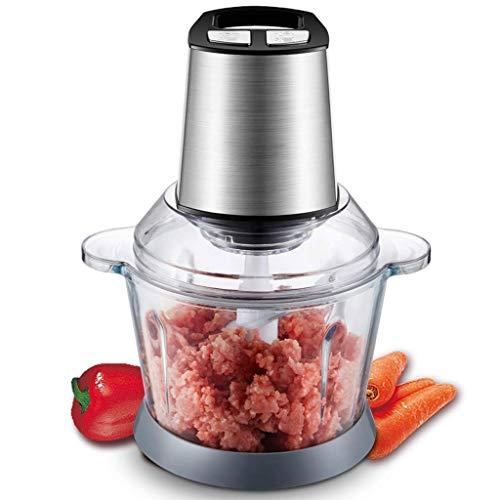 Yyqt Elektrischer Fleischwolf - die 4 Edelstahlklingen, Edelstahl Fleischwolf Wurstfüllmaschine Elektrische Küchenmaschine (Color : A)