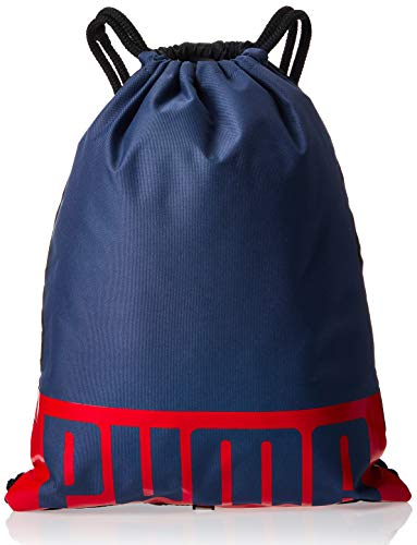 PUMA Puma Deck Gym Sack II Backpack with Laces Unisex Adult, unisex_adult, 076907-11, Red/Blue, One Size