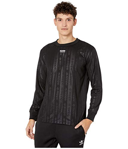 adidas Originals Men's Long Sleeve T-Shirt, black, XL