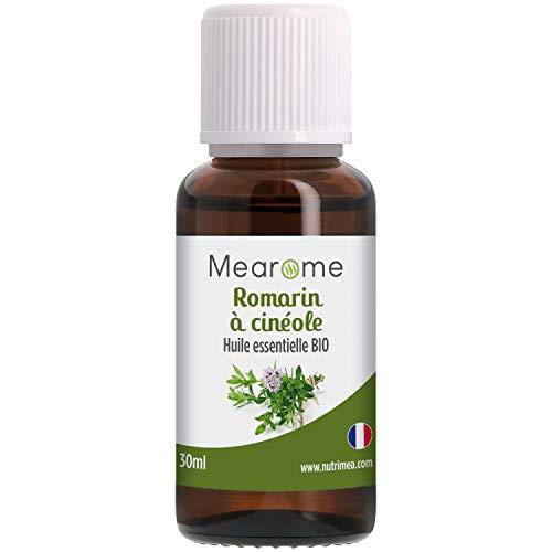 Huile Essentielle de ROMARIN A CINEOLE BIO - Rosmarinus Cineoliferum - Distillée en...